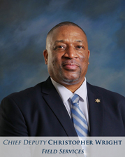 Chief Deputy Probation Officer Christopher Wright